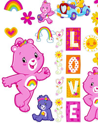 Care Bears Appliques by