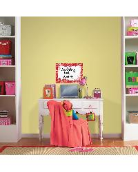 Paisley Red and Pink Dry Erase WallPOP by