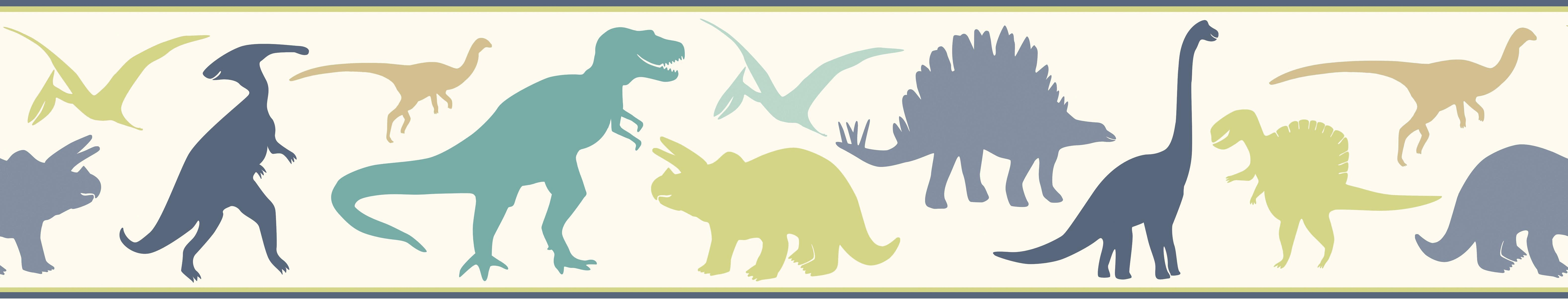 BYR94303B Dinosaur Wall Border - InteriorDecorating