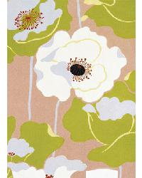 414 Poppies on Silk by