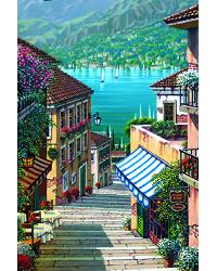 DS92086 Bellagio Path Mural by  Washington Wallcoverings