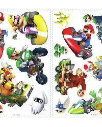 Nintendo - Mario Kart Peel  Stick Wall Decals by