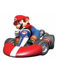 Nintendo - Mario Kart Peel  Stick Giant Wall Decal by