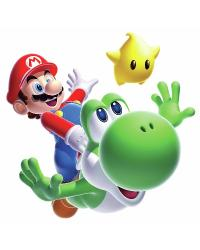 Nintendo - Mario Yoshi Peel  Stick Giant Wall Decal by