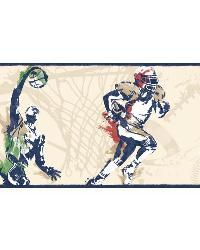 Sports Players Border BS5306BD by