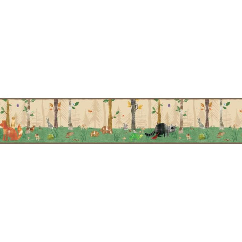 Comkids Room Borders : York wallcovering woodland border beiges search