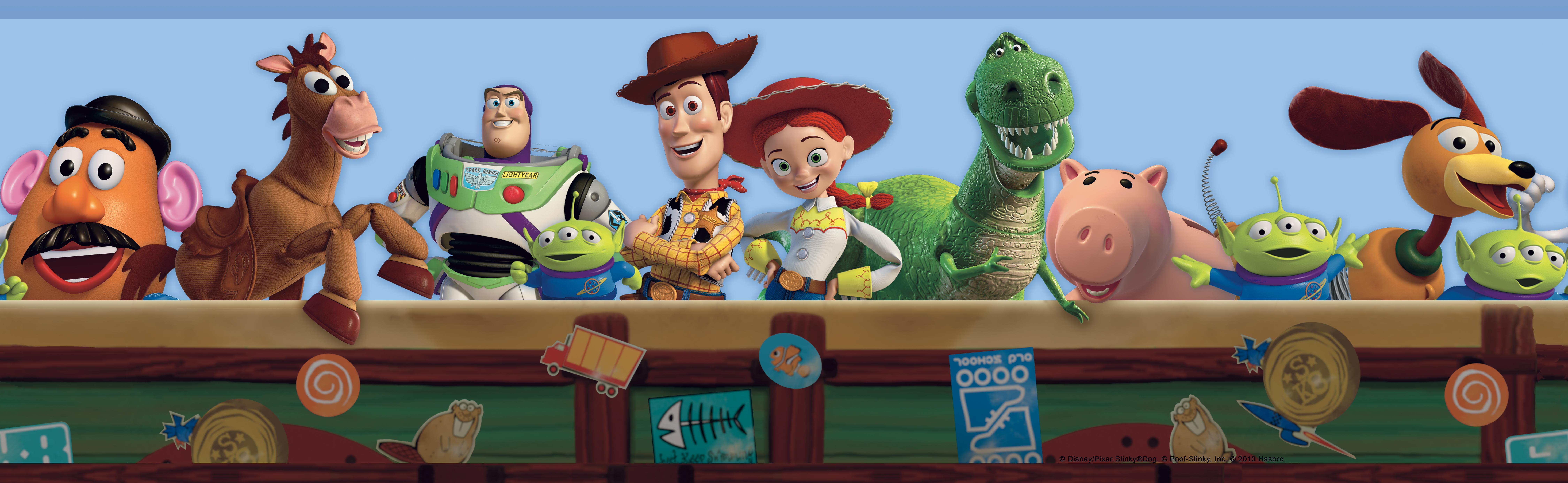York Wallpaper Toy Story 3