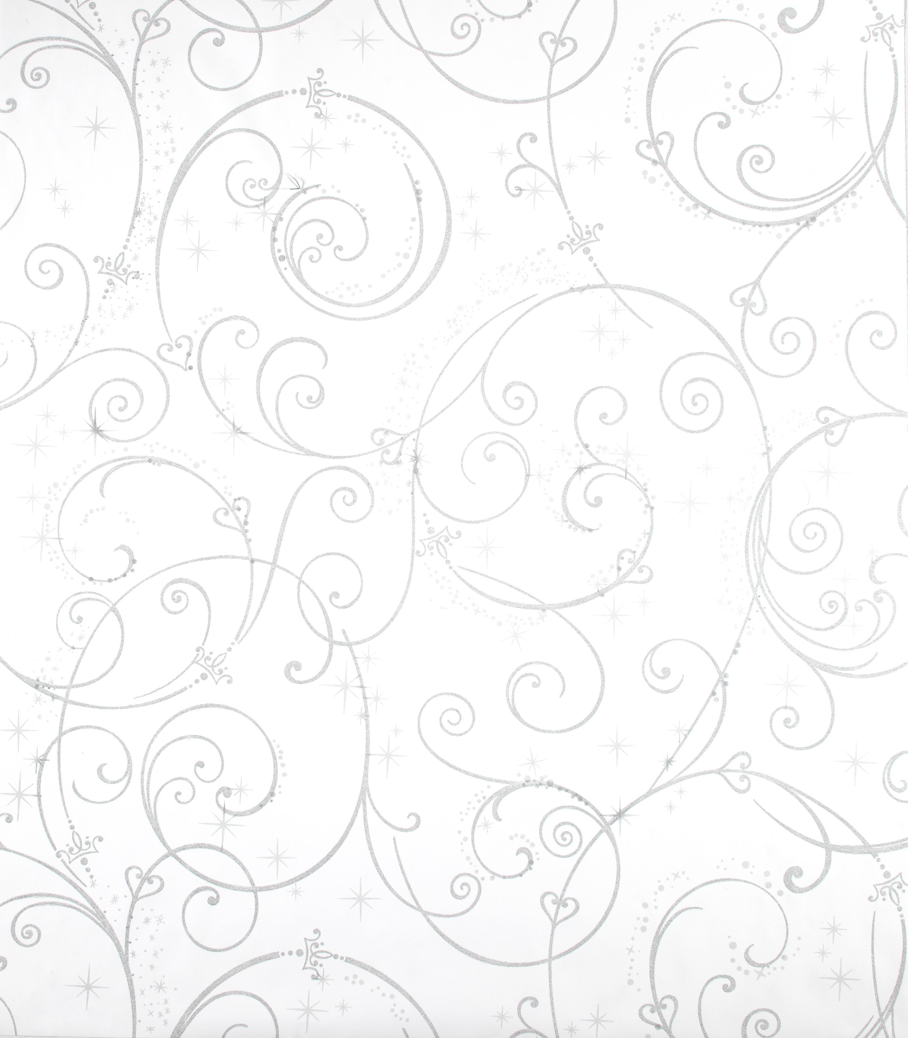 York Wallpaper Disney Princess White Perfect