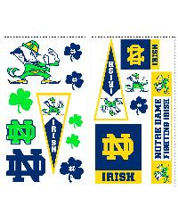 Notre Dame Fighting Irish Wall Decals by