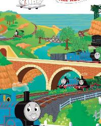 Thomas  Friends Peel  Stick Giant Wall Decal RMK1081GM by