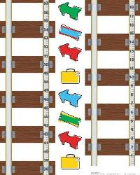 Thomas  Friends Peel  Stick Growth Chart             by