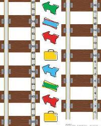 Thomas  Friends Peel  Stick Growth Chart RMK1126GC by