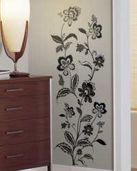 Jazzy Jacobean Peel  Stick Wall Decals RMK1167GM by
