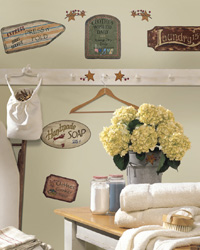 Country Signs Peel  Stick Wall Decals RMK1175SCS by
