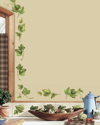 Evergreen Ivy Peel  Stick Wall Decals RMK1219SCS by
