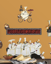 Chefs Peel  Stick Wall Decals RMK1255SCS by