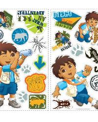 Diego Wall Decals RMK1379SCS by
