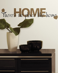 No Place Like Home Peel  Stick Wall Decals RMK1397SCS by