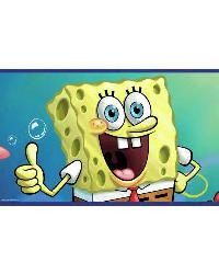Sponge Bob Wall Border RMK1416BCS by