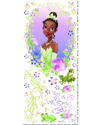 Princess  the Frog Wall Medallion RMK1427GM by