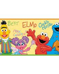 Sesame Street Peel  Stick Border RMK1463BCS by