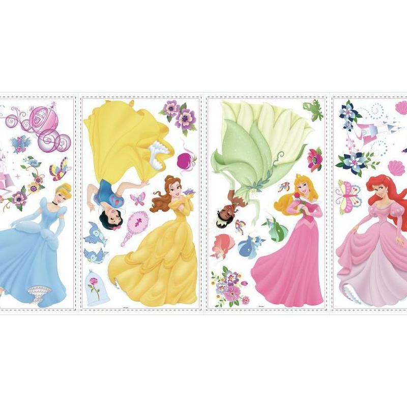 York Wallpaper Disney Princess Wall Stickers