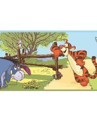 Winnie the Pooh  Friends Wall Border RMK1497BCS by