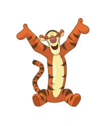 Tiger Giant Wall Decal RMK1500GM by