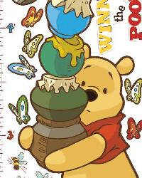 Pooh Growth Chart RMK1501GC by
