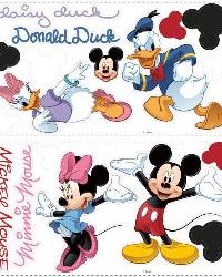 Mickey  Friends Wall Stickers by