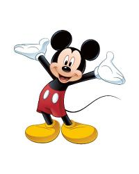 Mickey  Friends - Mickey Mouse Peel  Stick Giant Wall Decal by