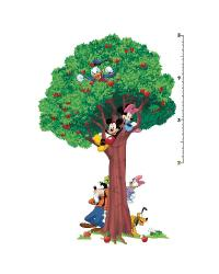 Mickey  Friends Peel  Stick Growth Chart   by
