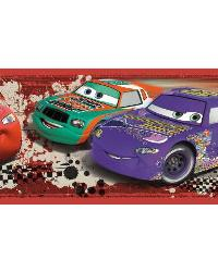 Cars Piston Cup Champion Racing Wall Border by