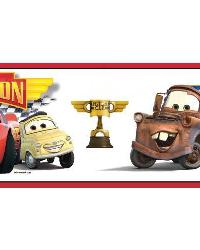 Cars Piston Cup Racing Champ Wall Border by