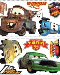 Cars Piston Cup Champ Wall Stickers RMK1520SCS by
