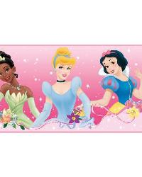 Disney Princess Pink Wall Border RMK1526BCS by