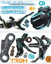 Tron Legacy Wall Stickers by