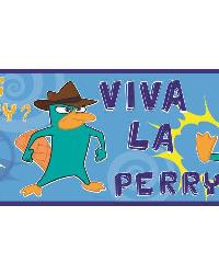Phineas  Ferb - Agent P Peel  Stick Border  by