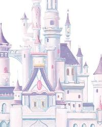 Disney Princess Castle Giant Wall Decal RMK1546GM by