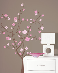 Spring Blossom Peel  Stick Giant Wall Decal RMK1555GM by