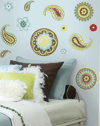 Paisley Peel  Stick Wall Decals RMK1557SCS by