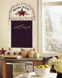 Country Chalkboard Peel  Stick Wall Decals RMK1572GM by