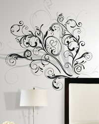 Forever Twined Peel  Stick Giant Wall Decal RMK1577GM by