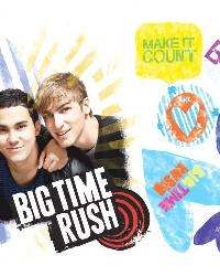 Big Time Rush Peel  Stick Giant Wall Decal by