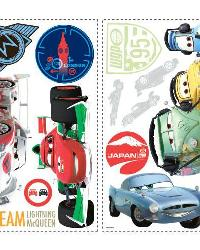 Cars 2 Peel  Stick Wall Decals by