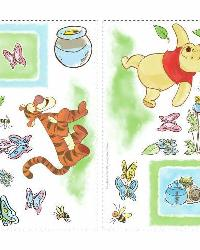 Winnie the Pooh - Toddler Peel  Stick Wall Decals by