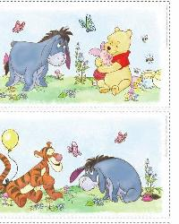 Winnie the Pooh - Pooh Scenic Peel  Stick Wall Decals by
