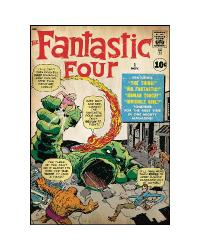 Comic Book Cover - Fantastic Four Peel  Stick Comic Cover RMK1645SLG by