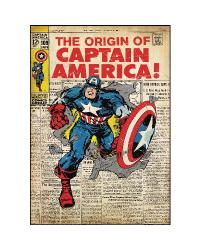 Comic Book Cover - Captain America Peel  Stick Comic Cover RMK1646SLG by