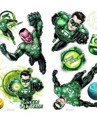 Green Lantern Peel  Stick Wall Decals RMK1652SCS by
